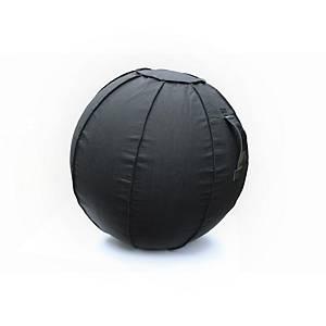 Siège ballon Floortex AFS-Tex, diamètre 75 cm, noir