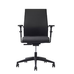 Prosedia Se7en Forty 7 bureaustoel, zwart