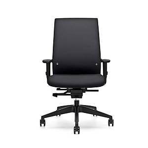 Prosedia Se7en Forty 8 bureaustoel, zwart