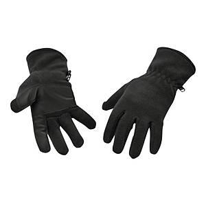 Rękawice polarowe, PORTWEST GL11, czarne