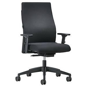 Office chair Prosedia 139RS, high backrest, black