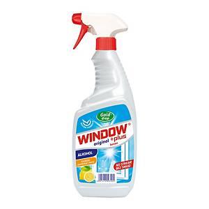 Čisticí prostředek na okna Window Lemon fresh s rozprašovačem, 750 ml