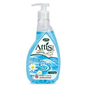 Attis antibakteriális folyékony szappan, pumpás adagolóval, 400 ml