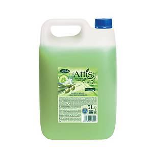 Attis Olívás és uborkás folyékony szappan, 5 l