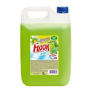Univerzální čisticí prostředek na podlahy Floor Lime/mint, 5 l