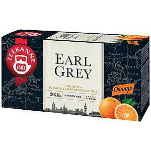 Teekanne Earl Grey tea, narancs, 20 filter, á 1,65 g