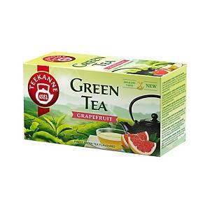 Teekanne zöld tea, grapefruit, 20 filter, á 1,75 g
