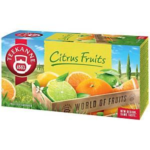 Čaj Teekanne citrusové ovoce, 20 sáčků, á 2,25 g