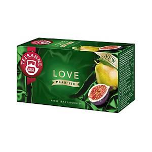Teekanne Love tea, körte és füge, 20 filter, á 2,25 g