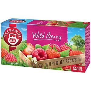 Čaj Teekanne, bobulové ovoce, 20 sáčků, á 2,25 g