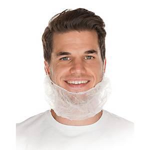 Bartschutz Hygostar 2920, 46 x 20 mm, weiß, 100 Stück