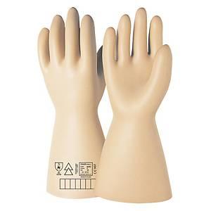 Par de guantes dieléctricos ISSA 07603N- clase 00- 2500V - Talla 9