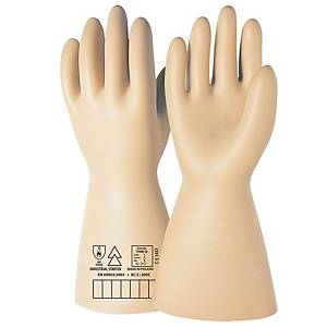Par de guantes dieléctricos ISSA 07612N- clase I- 10000V - Talla 9