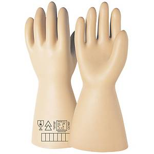 Par de guantes dieléctricos ISSA 07631N- clase III- 30000V - Talla 10
