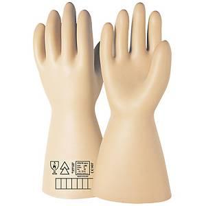 Par de guantes dieléctricos ISSA 07621N- clase II- 20000V - Talla 9
