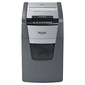 Destructeur de papier Rexel optimum auto+ 150X, 8-150 feuilles