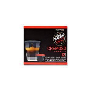 Kávové kapsle Vergnano Cremoso, 12 kapslí