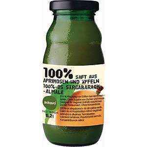 Zdravo természetes 100%-os gyümölcslé, sárgabarack - alma, 0,2 l, 10 darab/cs