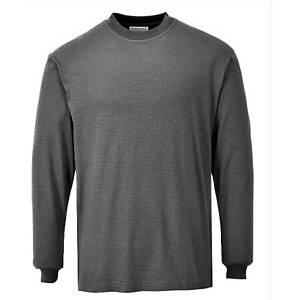 Camiseta manga larga Portwest FR11 gris - talla l