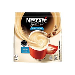 Nescafe Blend & Brew White Coffee - Pack of 15
