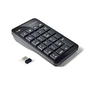 CLIPTEC RZK222 AIR-RAPID 2.4GHZ WIRELESS USB NUMERIC KEYPAD