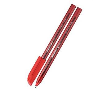 Schneider Vizz Kugelschreiber mit Geltinte, M, rot