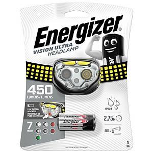 Lampe torche frontale Energizer Vision Ultra - 400 lm - portée 80 m