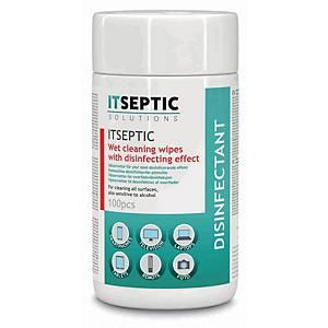 ITSEPTIC desinfiointiliina alkoholiton 9x13,5cm 1 kpl=100 liinaa