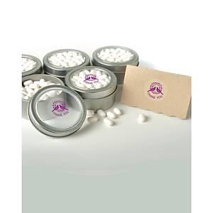 Bollini adesivi chiudi pacco Tico Ø 25-36 mm trasparente - conf. 210