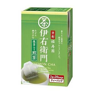 UJINOTSUYU Matcha Dried Tea Bag  - Pack of 20
