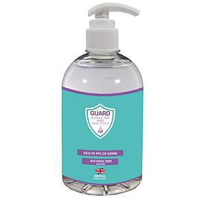 Shield Guard Alcohol Free Sanitiser Hand Gel 500ml