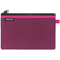 Leitz Wow Travel Pouch, Water Resistant,  Large (A4) - Pink