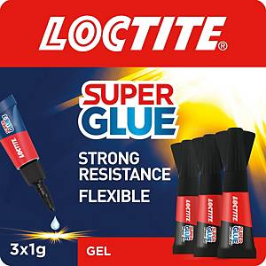 Loctite Super Glue Power Gel Mini Trio 3 x 1g