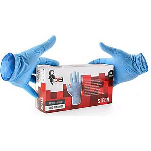 STERN disposable nitrile gloves, Größe 8, 100 pieces