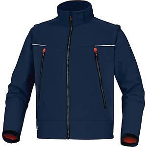 Zateplená bunda Deltaplus Orsa, veľkosť XL, modrá