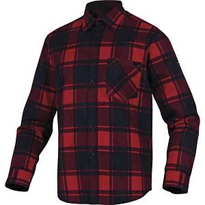DELTAPLUS RUBY Hemd, Größe XL, rot