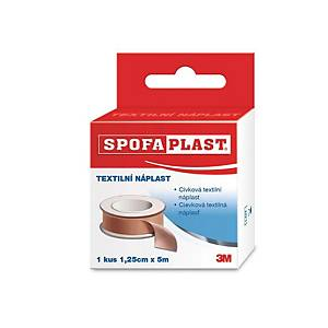 3M™ Spofaplast® 131 plaster, 1.25 cm x 5 m, brown