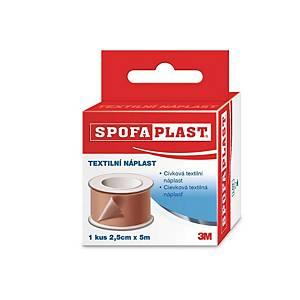 Náplast 3M™ Spofaplast® 132, 2,5 cm x 5 m, hnědá