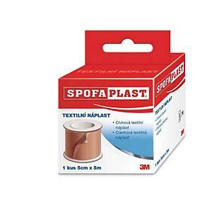Náplast 3M™ Spofaplast® 134, 5 cm x 5 m, hnědá