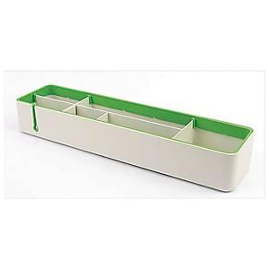 SYSMAX 仕嘜牌 2707 多用途桌面整理盤 綠色