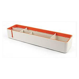 SYSMAX 仕嘜牌 2707 多用途桌面整理盤 橙色