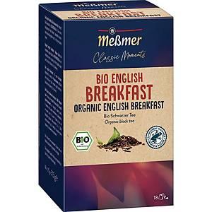 Messmer Bio Tee English Breakfast, 18 Stück