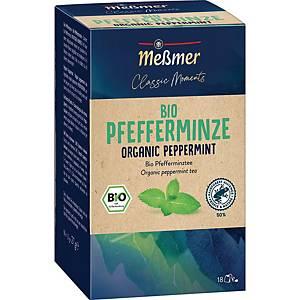 Messmer Bio Tee Pfefferminze, 18 Stück