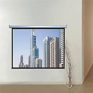 掛牆電動投影屏幕 180 x 180cm