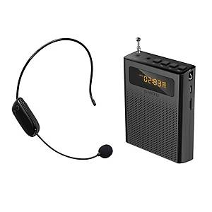 COMS WW505 PORTABLE SPEAKER AND HEADSET