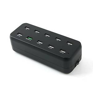 컴스 LS414 10포트 USB 멀티 충전기
