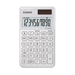 카시오 SL-100SC 휴대용 계산기 화이트