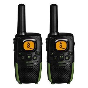 Sencor SMR 131 Twin tragbares Funkgerät, Reichweite 7 km