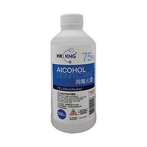 HK KNG 75% 消毒火酒 500毫升
