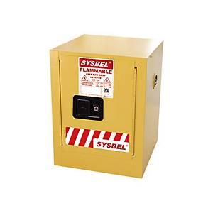 SYSBEL WA810040 易燃液體安全儲存櫃 4加侖 黃色